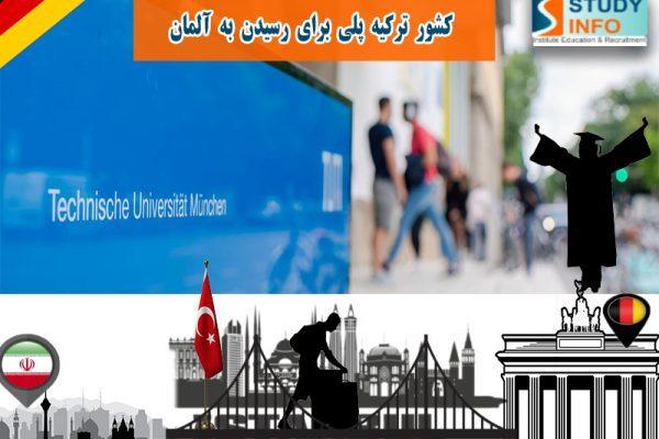 دریافت ویزای تحصیلی آلمان از طریق ترکیه